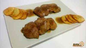 Solomillo de Cerdo en salsa de miel y mostaza