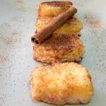 Leche frita un postre tradicional de España