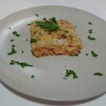 Pastel de salmón gratinado